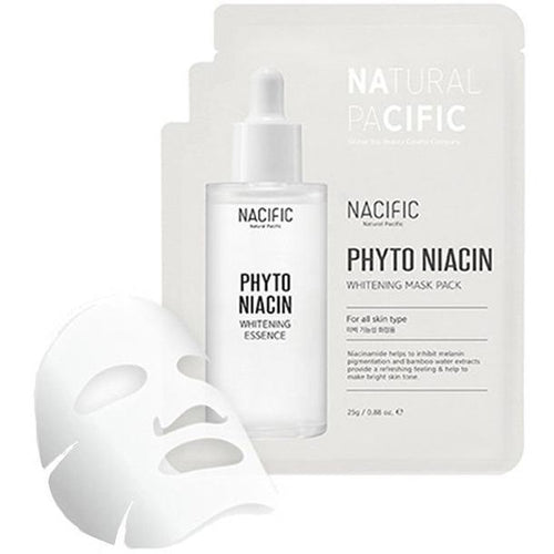 NACIFIC PHYTO NIACIN WHITENING MASK PACK 1EACH - BESTSKINWITHIN