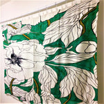 <即納品>ラグマット green peonies by Marcella Wylie 約176cm × 約122cm