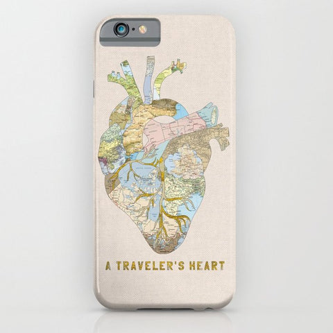 スマホケース A Traveler's Heart by Bianca Green