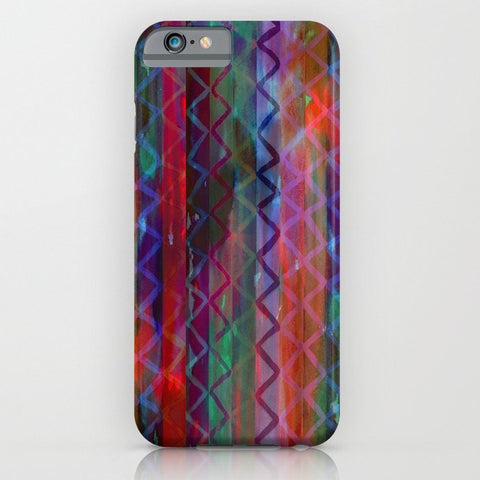 スマホケース Acid Chevron by Schatzi Brown