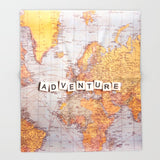 ブランケット adventure map by Sylvia Cook Photography