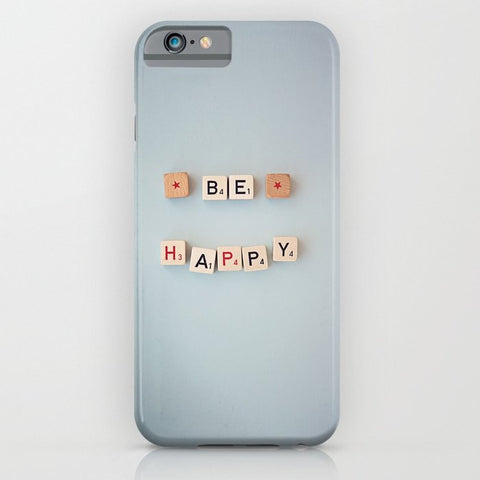 スマホケース be happy by shannonblue