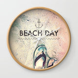 壁掛け時計 Beach Day by spires