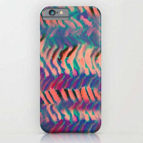 スマホケース Bermuda Chevron by Schatzi Brown