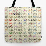 トートバッグ Bikes by Wyatt Design