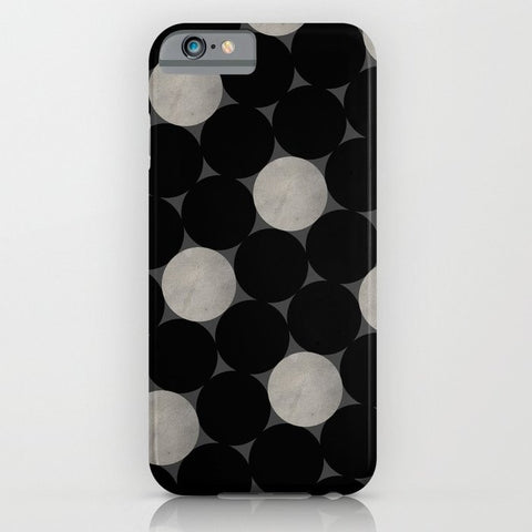 スマホケース Black Polka by Georgiana Paraschiv