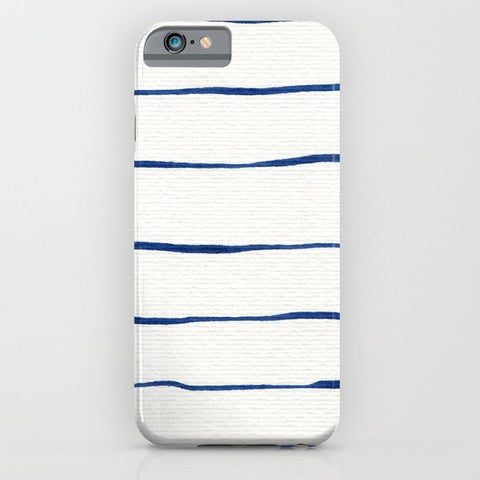 スマホケース Blue Stripes by Georgiana Paraschiv