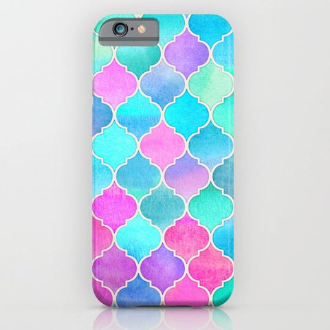 スマホケース Bright Moroccan Morning pretty pastel color by micklyn