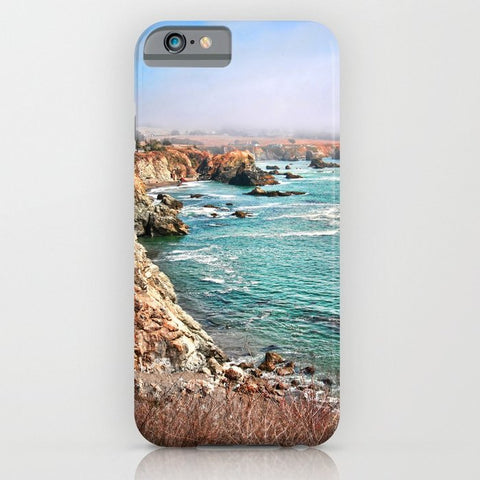 スマホケース California coastline by Sylvia Cook Photography