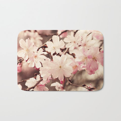 バスマット Cherry Blossom by Erin Johnson