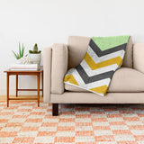 ブランケット Color Blocked Chevron 13 by Josrick