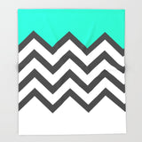 ブランケット Color Blocked Chevron 9 by Josrick