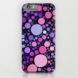 スマホケース cool dots-orchid by Sylvia Cook Photography