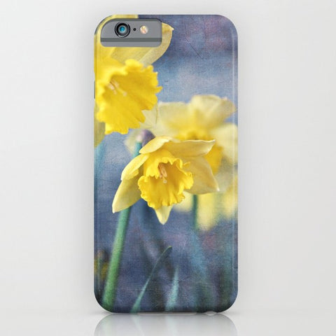 スマホケース daffodils by Sylvia Cook Photography
