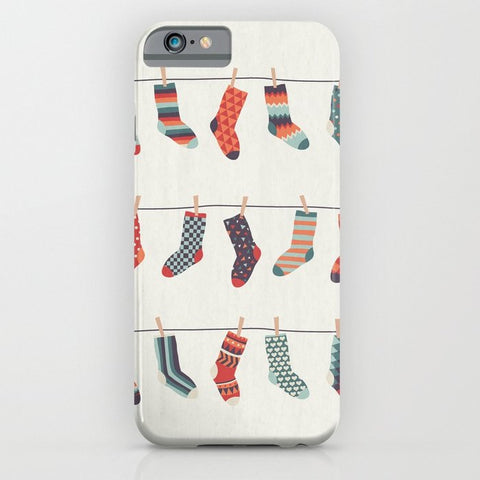 スマホケース Don't Waste Time Matching Socks by basilique
