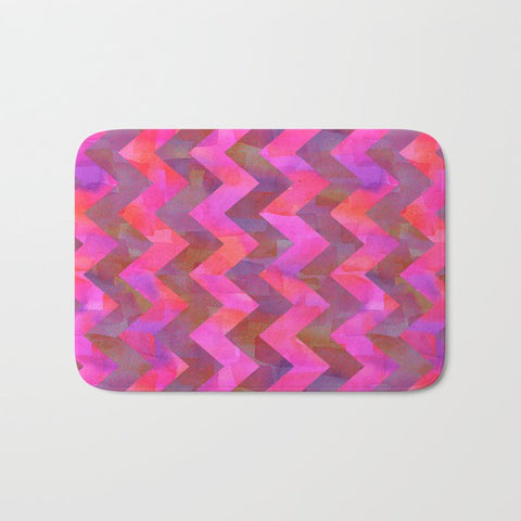 バスマット Dot Chevron by Schatzi Brown