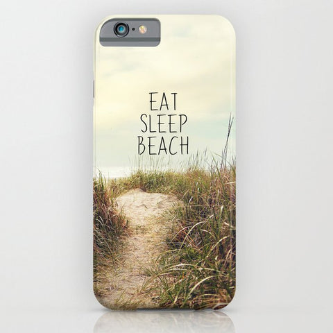 スマホケース eat sleep beach by Sylvia Cook Photography