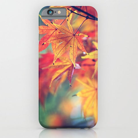 スマホケース fall leaves by Sylvia Cook Photography