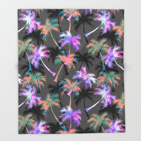 ブランケット Falling Palms by Schatzi Brown