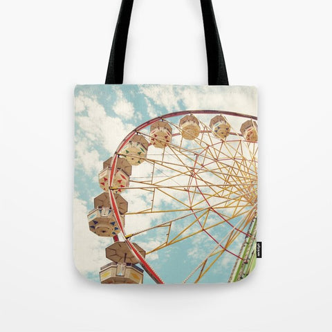 トートバッグ ferris wheel by Sylvia Cook Photography