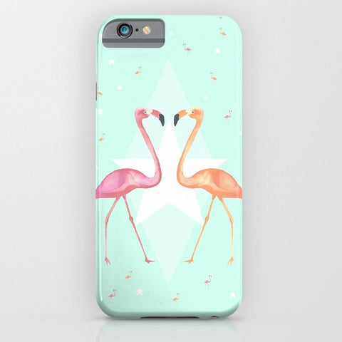 スマホケース FLaMINGoS by Monika Strigel