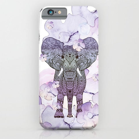 スマホケース ELEpHANT by Monika Strigel