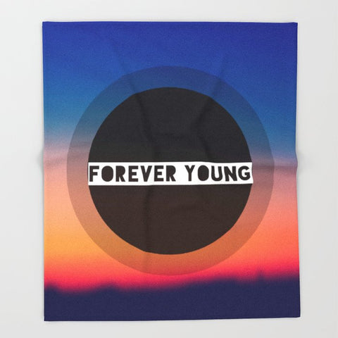 ブランケット Forever Young by Josrick