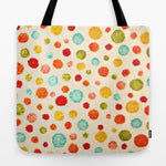 トートバッグ fun little polka dots by Sylvia Cook Photography