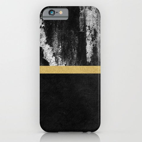 スマホケース Golden Line / Black by Elisabeth Fredriksson