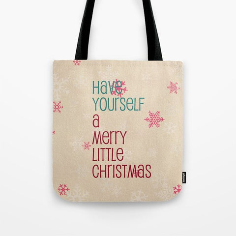 トートバッグ have yourself a merry little christmas by Sylvia Cook
