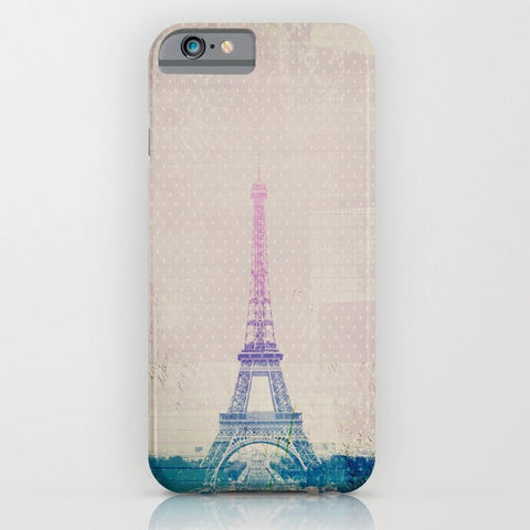 スマホケース I Love Paris by M Studio