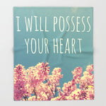 ブランケット I will Possess Your Heart by Josrick
