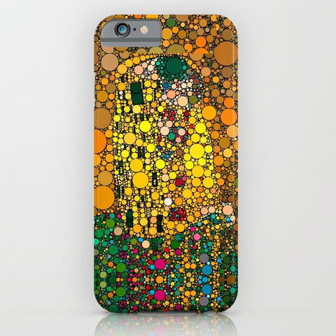 スマホケース If Klimt The Kiss was painted with bubbles  by Love2Snap