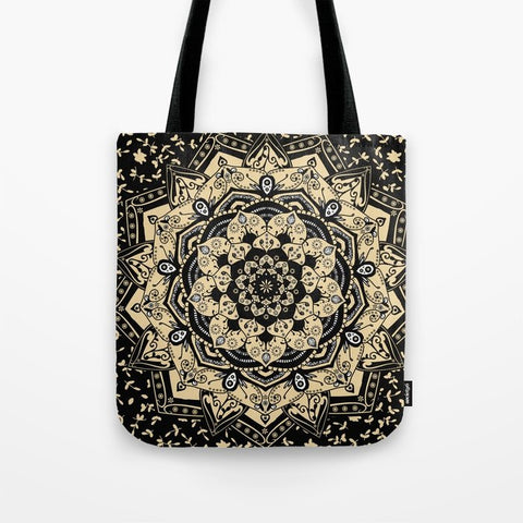トートバッグ Indian Gold Mandala