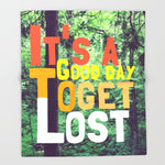 ブランケット It's a Good Day To Get Lost by Josrick