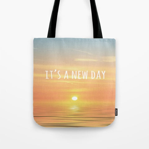 トートバッグ It's A New Day (Typography) by ALLY COXON