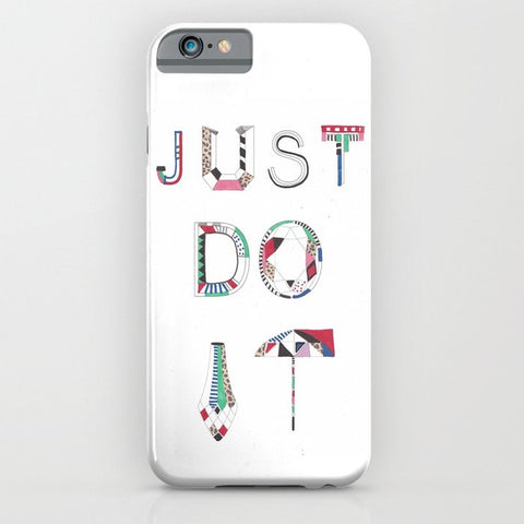 スマホケース JUST DO IT  by Vasare Nar