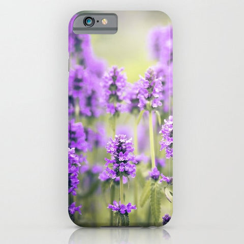 スマホケース lavender field by Sylvia Cook Photography