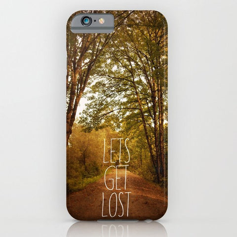 スマホケース lets get lost by Sylvia Cook Photography