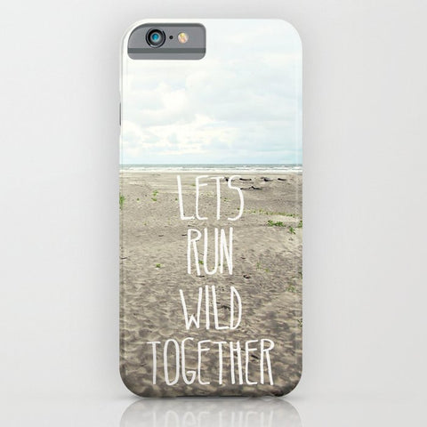 スマホケース lets run wild together by Sylvia Cook Photography
