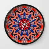 壁掛け時計 Mandala  by Monika Strigel