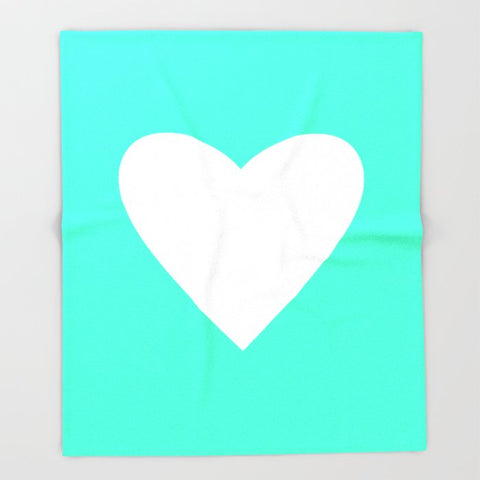 ブランケット Mint Heart by M Studio