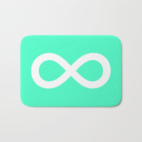 バスマット Mint Infinity by M Studio