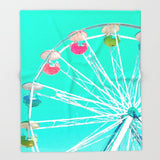 ブランケット Minty Ferris Wheel of Happiness by spires