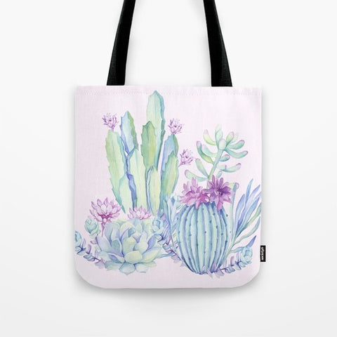 トートバッグ Mixed Cacti Pink #society6 #buyart