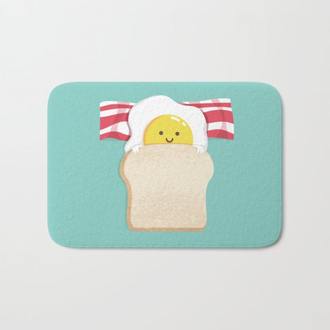 バスマット Morning Breakfast Art Print by Picomodi