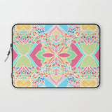パソコンケース Moroccan Inspired Bright Pastel Doodle Design by micklyn