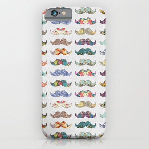 スマホケース Mustache Mania by Bianca Green