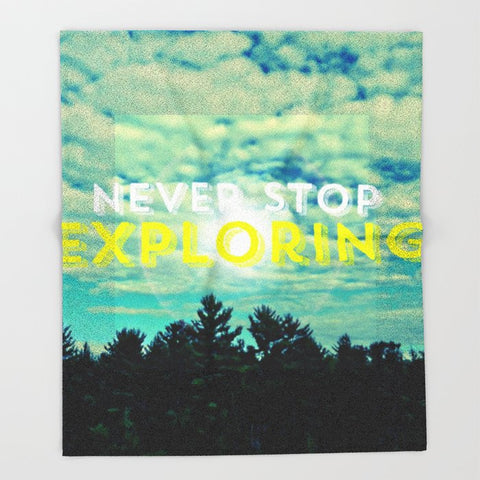 ブランケット Never Stop Exploring II by Josrick