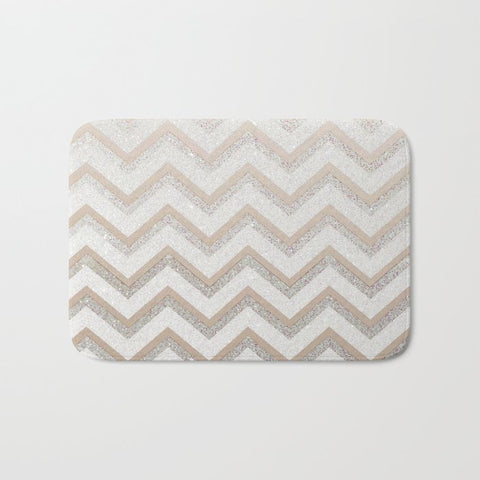 バスマット NUDE CHEVRON by Monika Strigel